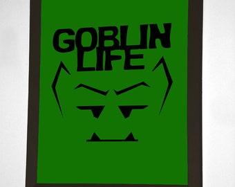 Goblin Life Wall Art - Green