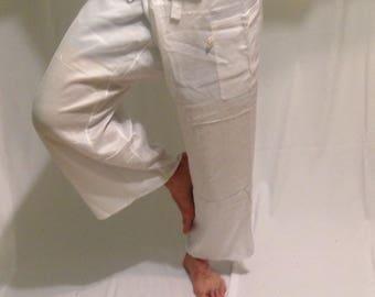 Kundalini thai  fisherman cotton pants- (one size fits all)