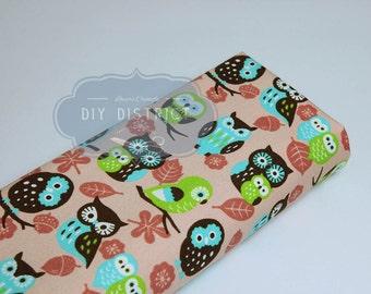 Fabric Japanese owls