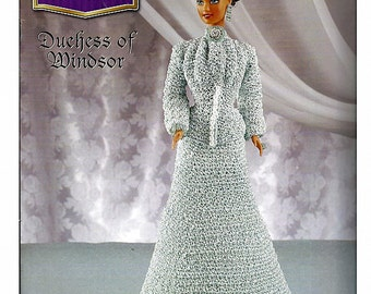 The Royal Court Collection Duchess Of Windsor  Fashion Doll  Crochet Pattern  Annies Attic