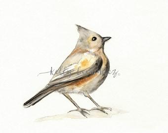 Bird Art, bird print, printable art, Watercolor printable, A Song of Ascent, Home Decor