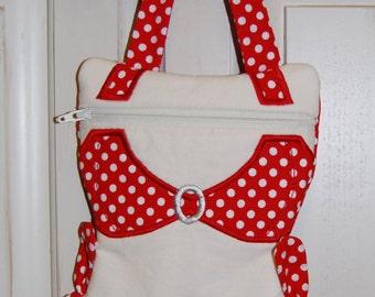 Bikini bag, Wet Bikini Bag, Bathing suit bag, Beach bag for bikini, bikini purse, gift for her, graduation gift, wet bathing suit bag
