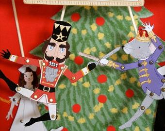 Puppet Theater- Nutcracker Suite- PDF Printable Download