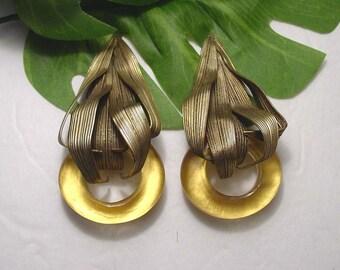 MIGEON et MIGEON - A True Work Of Art Statement Earrings