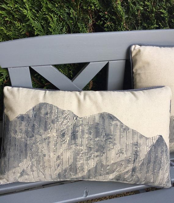Cushion Panoramic Mont Blanc