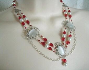 Renaissance Necklace victorian jewelry renaissance jewelry medieval jewelry edwardian victorian necklace art deco art nouveau tudor necklace