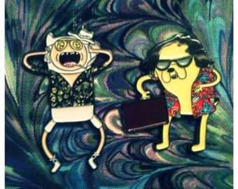 Jake & Finn Fear and Loathing V3 Hat Pin