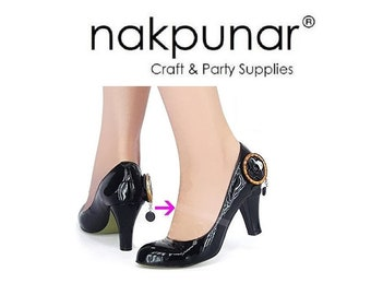 Nakpunar 12 pairs Invisible Shoe Straps