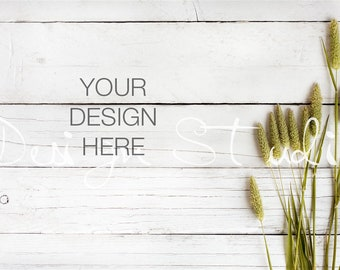 Styled Stock Photography,  White Wood Background,  Wood table mockup , Digital Backdrop , Digital Image , Instant download