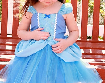 CINDERELLA  dress costume  Princess dress with  TUTU dress