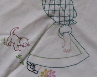 Three (3) Bonnie Bonnet Dishtowel Set