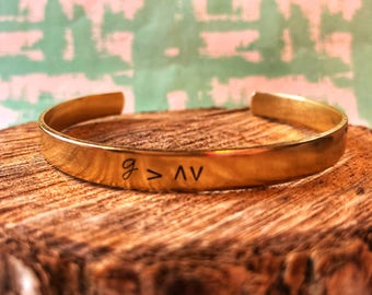 God is Greater Than The Highs and Lows, God is Greater, Handstamped Bracelet, Cuff Bracelet, Christian Jewelry, Christian Bracelet, God Girl