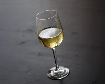 Kansas City Map Wine Glass