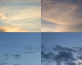 Sky Overlays (5 jpeg images)