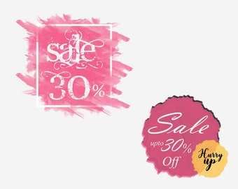Custom Artistic Sale Banner Design with your Offer