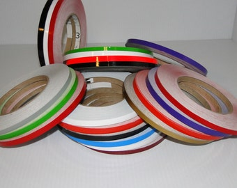 Vinyl Striping, Pin Striping, Accent tape, Self Adhesive colored Tape, Rolls of vinyl self adhesive sriping
