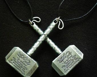 Thor, god of thunder, Vikings, hammer, Nordic, marvel, nerd jewelry,