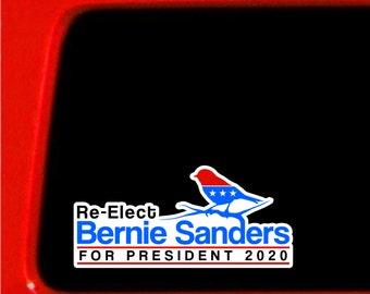 Political Symbol Bird - Bernie Sanders stickers - vinyl decal - outdoor safe stickers - political - 2020 president