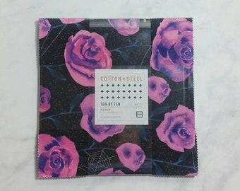Cotton + Steel Eclipse - Ten by Ten Charm Pack - 10 × 10 Inches Square Bundle - Fabric Precut Bundle