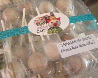 GLUTEN FREE Sampler Box of 16 cake pops