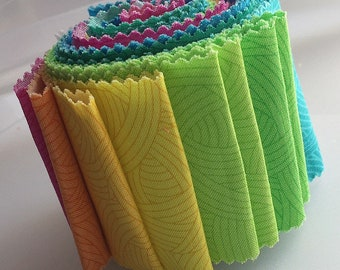 Jelly Roll Remnants - 18pcs