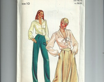 Butterick Misses' Pants and Skirt Pattern 3940