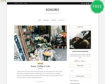 Kokoro- A Clean & Elegant blog theme