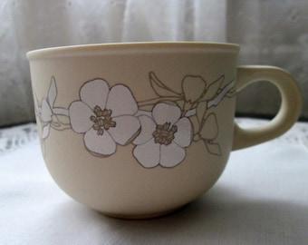 Hornsea Pottery Bouquet Pattern Tea Cup - 1982 - 1984