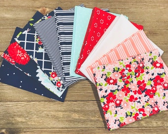 Fat Quarter Bundle The Good Life by Bonnie and Camille for Moda- 10 Fabrics
