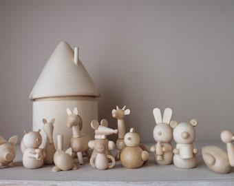 Montessori baby toys - Animals