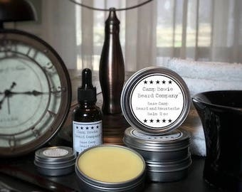 Base Camp Beard and Moustache Balm for Men's Grooming, Beard and Moustache Care