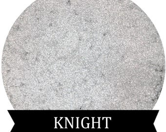 KNIGHT Metallic Silver White Eyeshadow