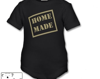 Home made- organic baby suit