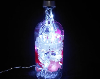 Absolut Raspberri Light-white