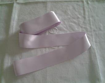4 cm lilac satin ribbon