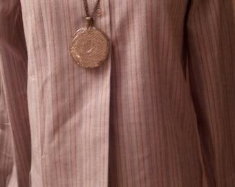 Vintage striped long sleeve shirt
