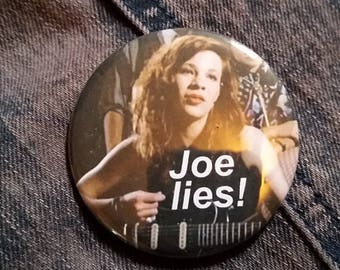 Say Anything Joe Lies 2-1/4 inch pinback button pin pins buttons pingame badge badges