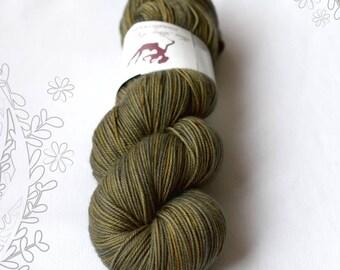 EVERYDAY SPORT - Almost Harvest OOAK - 100% superwash extrafine merino hand dyed yarn, knitting, crochet, sport weight