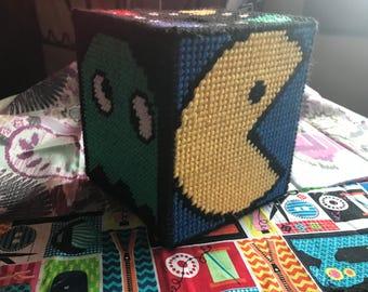 PAC man tissue box