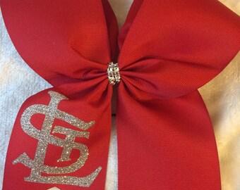 St. Louis Cardinals Cheer Bow