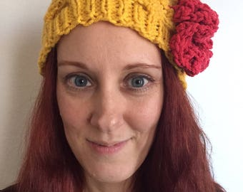 The Belle of the Ball Gown Beauty and the Beast Knit Hat