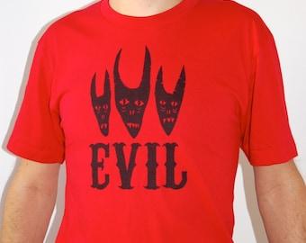 Evil T-Shirt red / unisex