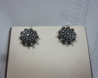 Sterling Stud Earrings
