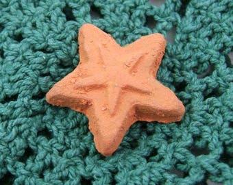 5 Miniature Terra Cotta Stars