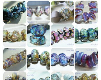 Creeky Beads Silvered Glass Bead Recipes By Wendy Willmott