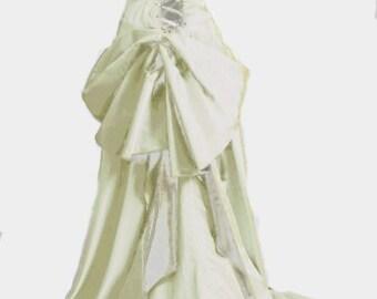 Smoldering Temptress Satine Moulin Inspired Wedding Gown - Custom Size