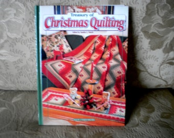 Treasury of Christmas Quilting Book