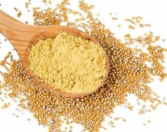 Yellow Mustard Powder 4oz - 12oz
