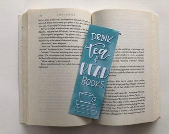 Tea & Books Bookmark