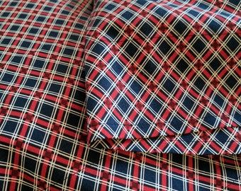 Lumberjack Plaid Pillowcase Set - Standard Size - Cotton - 19.5 x 29.5""
